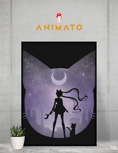 Sailor Moon Poster NEW Anime Manga wall art print Size - A4 A3 A2 - gift idea