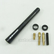 "Black 4.7"" Mugen Power Carbon Fiber Style Antenna Arial For Honda Acura Civic"