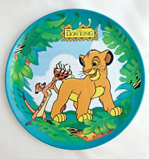 Disney The Lion King Plate Dish Childrens Kids Zak Designs Timon Melamine