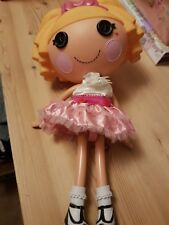 """Large Lalaloopsy dolls Tricky & Misty Mysterious Sisters 12"""" and 7"""""""