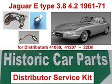 Jaguar E Type 4.2 lt 4235cc Series 1 1961-68 - IGNITION KIT for Lucas Dist 41207