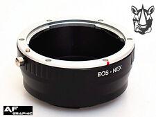 AD1u Canon EOS EF EFS Lens Adapter Ring to Sony E Mount NEX NEX-3 NEX-F3 NEX-3N