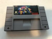 Tetris 2 - Super Nintendo SNES - Cleaned & Tested