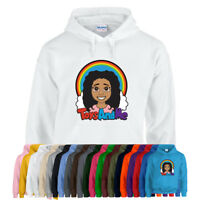 TIANA FULL COLOUR Toys and Me Girls Unisex Kids Hoodie Hoody Rainbow Youtube