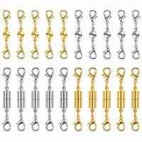 1X(20 Stücke Magnet Verschlüsse Für Schmuck,Magnetische Halskette L5W6)
