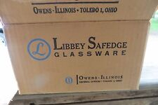 COMPLETE IN ORIGINAL BOX,Schlitz beer shorty bar advertising thin glass