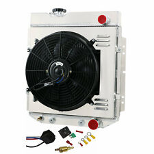 3 Row Radiator+Shroud Fan+Relay For Ford Mustang V8 64-66 Falcon Comet 1963-1965