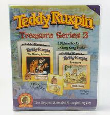 Treasure Series 2 Teddy Ruxpin Picture Story Song Books 1 Cartridge 2006 New