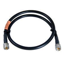 JEFA Tech RG-213/U MILSPEC - 2 Foot Jumper - UHF Male - PL-259 - for Ham and CB