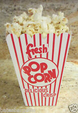 New POPCORN Snack Boxes/Tubs/Containers for Treat Parties/Home Theater/Movies=10