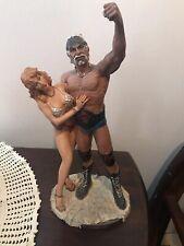 WWE WWF WCW NWO TNA NJPW WRESTLING HULK HOGAN STATUE FIGURINE RARE VINTAGE STAND