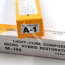 3 Color Dental Light-Cure Composite Micro Hybrid Restorative Resin Shade Syringe