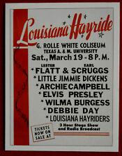 Elvis - Concert Tour Series - Card #06 - Louisiana Hayride - Sporting Profiles
