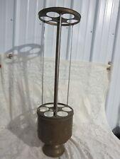 Vintage Brass Rotating Ice Cream Cone Dispenser