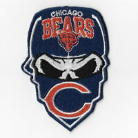 Chicago Bears (d) Iron on Patch Embroidered Football Patches