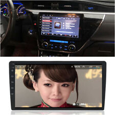 16G ROM Android 8.1 Octa-Core Car Stereo Radio GPS Wifi Mirror Link 1 Din 10.1""