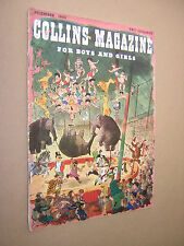 COLLINS MAGAZINE DECEMBER 1950. BOYS & GIRLS LITERARY MAGAZINE