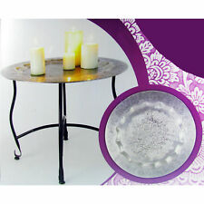 Runde beistelltische aus metall g nstig kaufen ebay for Tisch marmoroptik