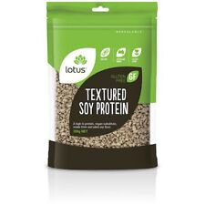 3 X Lotus Textured Soy Protein (TVP) 200g