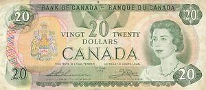 Canada 20 Dollars 1979 P-93c