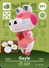 Gayle NFC Tag/Coin Amiibo Card Animal Crossing New Horizons! Free Shipping!