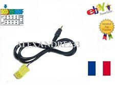 Cable auxiliaire lecteur MP3 IPHONE autoradio FIAT LANCIA ALFA ROMEO 6 PIN