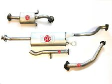 fits MITSUBISHI PAJERO and SHOGUN Full Exhaust for 2.5TD V44 LWB 1990 to 2000