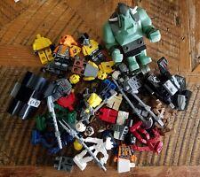 Lego Lot of Random Lego Minifigures, Parts & Accessories 90+ Pieces Space Aliens