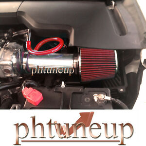 RED FIT 2008-2012 HONDA ACCORD CROSSTOUR EX 3.5 3.5L V6 AIR INTAKE KIT SYSTEMS