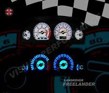 Land Rover Free lander mk1 diesel interior dash custom lighting dial kit
