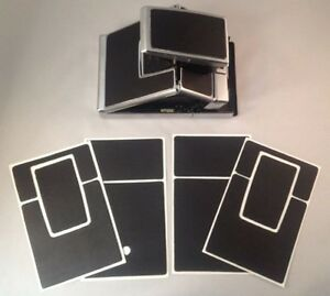 Polaroid SX-70 PolaSkinz Full Grain Nappa Leather Black Replacement Skin SLR680