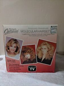 NEW in Box Vintage Richard Caruso Molecular Hairsetter + Curlers Deluxe Traveler
