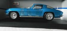 1965 CHEVROLET CORVETTE DIE-CAST METAL MODEL CAR SCALE 1:18 by Maisto
