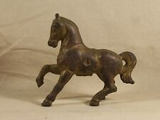 Antique Cast Iron A C Williams Still Penny Bank Prancing Horse