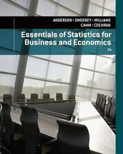 Essentials of Statistics for Business and Economics by James J. Cochran,...