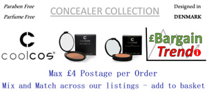 Cool Cos Denmark Paraben Parfum Free Cosmetic CONCEALER Collection #BargainTrend