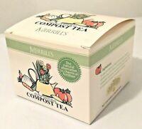 Merrill's Organics All Natural Compost Tea (12 Teabags) Plant Food Fertilizer