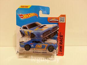 "Voiture Mattel Hot Wheels CFH77 '68 Mercury Cougar "" Hw Course "" 1/64"