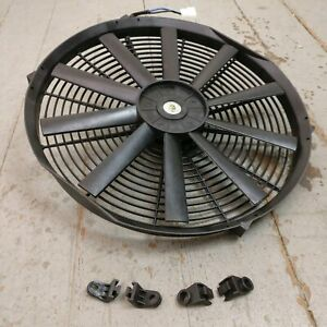 """1964-73 Ford Mustang 16"""" Electric Radiator Cooling Fan 2803CFM shelby 351 289 V8"""