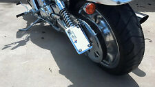 Harley Davidson V-rod Chrome License Plate Mount