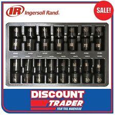 Ingersoll Rand 15Pc 1/2″Dr Universal Deep Metric Impact Socket Set SK4M15ULA