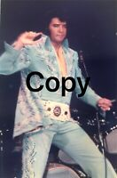 ELVIS PRESLEY MADISON SQUARE GARDEN 1972 CANDID CONCERT PHOTOGRAPH
