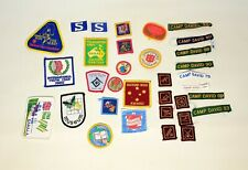 Bulk Lot of Cloth Boy Scout Badges? Boys Legion? Camp David, Activity Badges etc