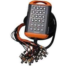 Bespeco XTRA 1608L20 Ciabatta Audio Cavo Multipolare 16 in 8Aux