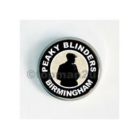 New, Quality Circular Metal Pin Badge - Peaky Blinders - Birmingham