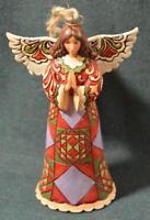 JIM SHORE/Heartwood Creek - CHRISTMAS ANGEL Hanging Ornament - MIB/NIB