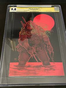 Last Ronin 1 Cyn City Virgin double signed, remark by Eastman, Bishop 1 of 300
