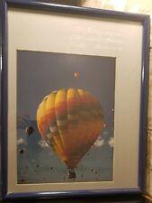 1984 Albuquerque International Balloon Fiesta Hot Air Balloon Photo Framed