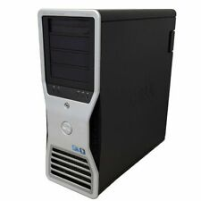 Dell T7500 workstation 3.6GHz 2X X5687 8Core 48GB 120GB SSD+1TB HD6450 WIN10