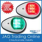 Aquatrack Led Navigation Lights White Housing-portstarboard Boatnavrunning Pw